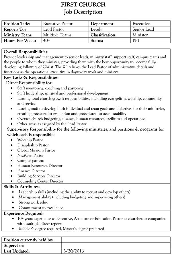 Microsoft Word - xp_job_description.docx